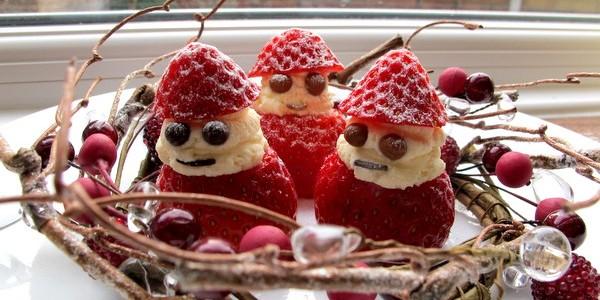 超好笑的草莓雪人及double chocolate cupcake