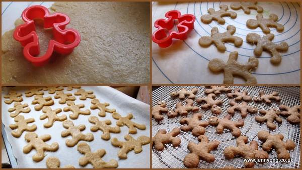 snowflake ginger cookies1