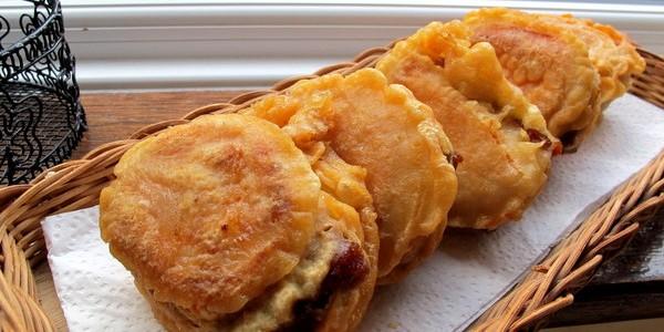 外脆内软的炸番薯年糕
