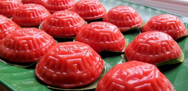 番薯红龟粿 Ang Ku Kuih