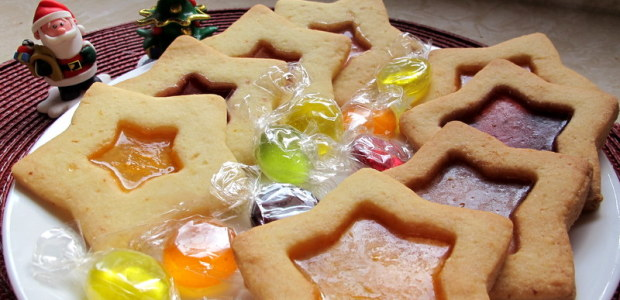 彩色玻璃饼干 Stained Glass Biscuits